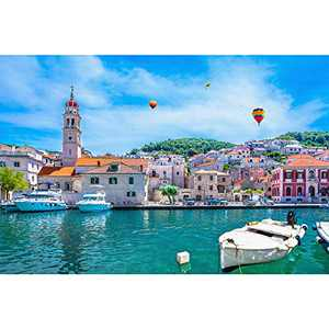 """Leisure Life 1000 Piece Jigsaw Puzzles Multi for Adults Families and Kids Age 14 and up 1.7MM 26.75"""" L X 19.75"""" W"""