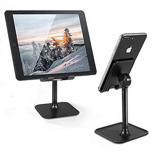 Cell Phone Stand, OPKALL Phone Stand for Desk, Adjustable Desk Phone Holder Compatible with All Mobile Phones, iPhone, iPad, Tablet