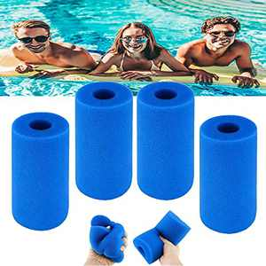 Swimming Pool Filter Foam Sponge,Pool Filter Cartridge for In-tex Type A,Swimming Pool Filter Foam Cartridge,BerniceKelly Reusable Washable Filter Sponge Cleaner for Pool,Compatible with In-tex Type A