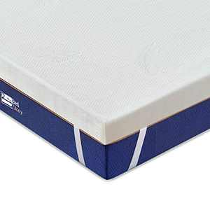 BedStory Twin Mattress Topper, 3 Inch Lavender Memory Foam Mattress Topper with Removeable Washable Cover, Memory Foam Mattress Pad, Bed Topper with CertiPUR-US Foam, Ventilated Design - Twin Size