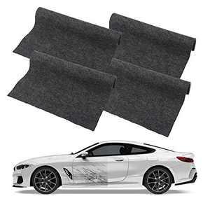 4 Pcs Car Scratch Remover Cloth,Nano Magic Cloth Nano Sparkle Cloth for Car Scratches,Multipurpose Scratch Repair Cloth - Easily Repair Paint Scratches Water Spots Light Scratch Repair for Cars