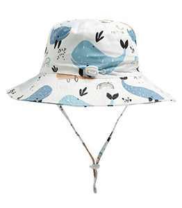 Jastore Baby Boys Girls Bucket Hat Sun Hats Breathable Summer Play Hat (X-Style 16, 2-3T)