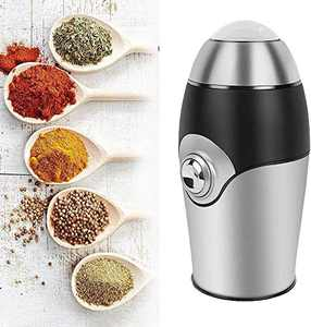 Coffee Grinders,200W,One-Touch-Blade-Grinder,Stainless Steel Powder Coffee Beans Grinding Machine (1.41 oz Upgraded)