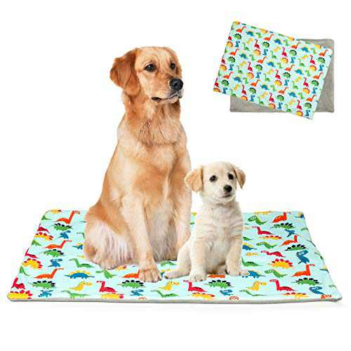 RAVEGO Washable Puppy Pads, Ultra Absorbent Puppy Training Pee Pad for Dogs Waterproof Reusable Dog Pee Pads for Dog