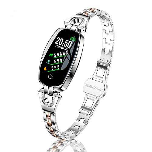 TMYIOYC Activity Tracker, Fitness Tracker Heart Rate Monitor Sport Digital Watch, Women Wrist Watch with Step Calories Sleep Tracker, Smartwatches for Android Phones and iPhone