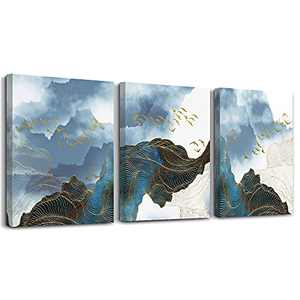 """Wall Decor For Living Room Canvas Wall Art For Bedroom Modern Family Bathroom Canvas Art Kitchen Fashion Abstract Pictures Artwork Office Wall Paintings Ready To Hang Home Decoration 12"""" X 16"""" 3 Piece"""