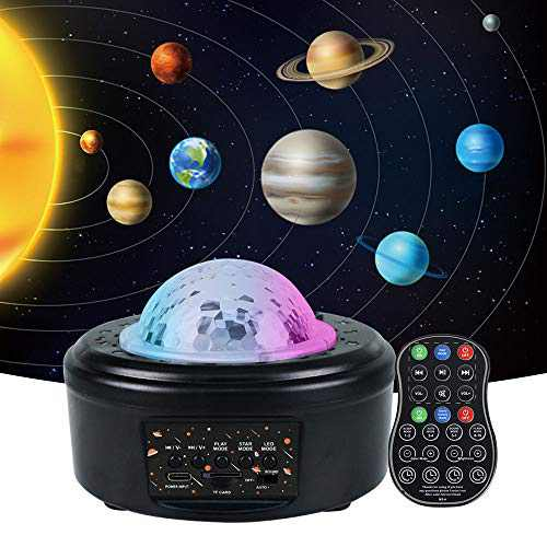 YSH Star Projector Night Light Projector with LED Galaxy Ocean Wave Projector Bluetooth Music Speaker for Baby Bedroom,Game Rooms,Party,Home Theatre,Night Light Ambiance