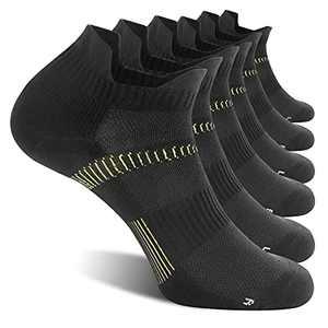 Compression Coolmax Ankle Socks Athletic Running Light Cushion Wicking Anti-Odor Seamless Plantar Fasciitis For Men Women