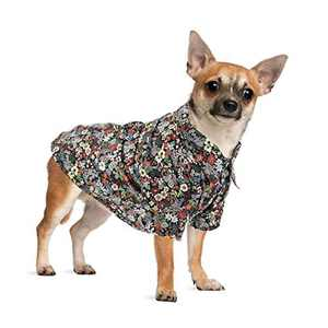 Hozz Classic Plaid Premium Cotton Dog Floral Shirt Breathable and Comfortable Puppy Warm Cloth Gift Brown Plaid M
