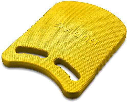 Junior Kickboard Buoy for Youth Children & Toddlers Swimming Aid & Exercise Training Board for Kids to Learn to Swim in The Pool & Open Waters | EVA Material & BPA Free (Yellow)