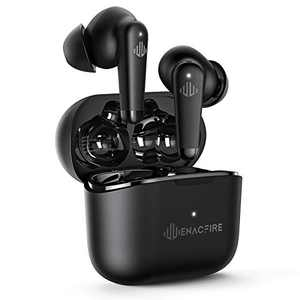 ENACFIRE A9 Active Noise Cancelling Wireless Earbuds Transparent Mode and 4 Mics Bluetooth Earbuds IPX7 Waterproof Bluetooth 5.0 Wireless Earphones Deep Bass and Stereo Sound Bluetooth Earphones