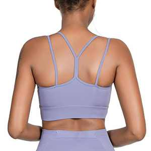 IHOT Women Padded Sports Bra Fitness Workout Running Shirts Yoga Tank Top