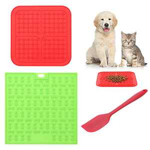 Pet IQ Treat Mat | Dog Lick Mat & Fun Alternative to Slow Feeder Dog Bowls, Snuffle Mat for Dogs, and Dog Puzzle Toys | Calming Mat for Dog Anxiety Relief | Just Add Healthy Treats