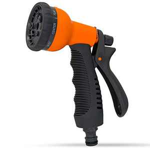 Hose Nozzle Garden Sprayer,Multifuncional Garden Hose Nozzle with 8 Hose Sprayer Patterns,Watering Flowers and Garden, Home Cleaning & Car Washing Spray Nozzle For Hose