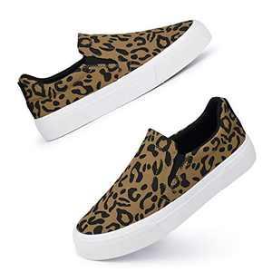 JENN ARDORTrendySlip OnSneakersComfortableStylishLow TopShoesCuteComfyCasualSneakersSoftWalkingFlatShoesforWomenGirls