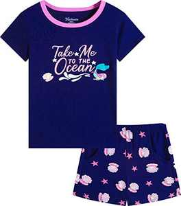 Naivete Clothing for Girls Cotton Toddler Cute 2 Piece Short Sets Kids Clothes Size 5