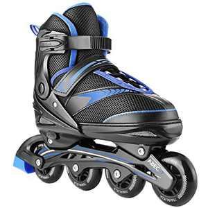 WeSkate Inline Skates Adults, Adjustable Roller Skates for Teens Women Men