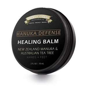 Manuka Defense Healing Balm with New Zealand Manuka & Australian Tea Tree Oils - 2 Fl Oz