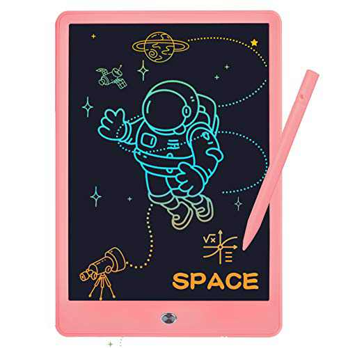 EVRAIN 10inch LCD Writing Tablet for Kids, Colorful Toddler LCD Writing Drawing Tablet Board, Reusable Drawing Doodle Pad Best Learning Toys for 3+ Years Old Boys Girls Men&Women