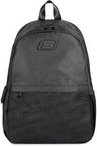 Skechers Unisex Backpack, 20L Lightweight Casual Daypack Rucksack for School, Sports, Business,Travel, Black