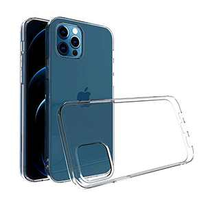 ABenkle Compatible with iPhone 12 Pro Max Case, Slim Fit Hybrid Anti-Scratch Shockproof Protective Flexible Bumper Cover for iPhone 12 Pro Max 6.7-Inch 2020, Crystal Clear