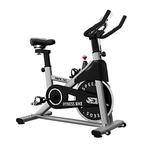 HAPICHIL Exercise Bikes Magnetic Resistance Indoor Cycling Stationary bike with 35lbs Flywheel, LCD Monitor, Tablet Holder & Comfortable Seat Cushion for Home Gym Workout Cardio Training