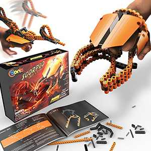 C-bionic Scorpion Toy - Building Block STEM Toys for Boys and Girls - Learning and Education Birthday Gifts for Kids - Educational Toys and Science Activities for Children - Cool, Flexible Set Bricks