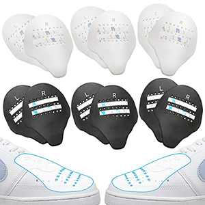 Shoe Crease Protectors for Air Force 1, Anti-Wrinkle Sneaker Shields 2.0, Upgraded Shoe Crease Guard, 6 Pairs