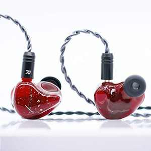 【HiFiGo】 Kinera BD005 Pro in Ear Monitors 3D Printed HiFi Wired Earphones with Mic 9.2mm Beryllium Diaphragm Hybrid Driver 30095 Series+1BA 2-Pin Detachable Cables Comfort and Effective Isolation