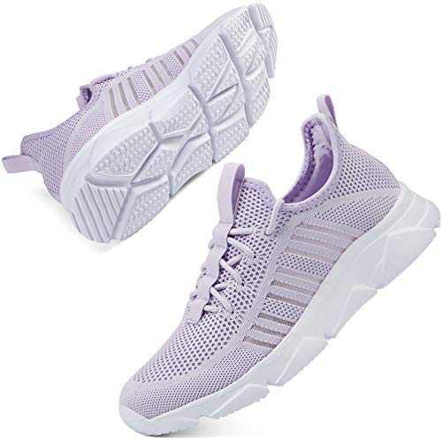 SCICNCN Walking Shoes for Womens Non Slip Lightweight Breathable Mesh Athletic Sneakers Gym Jogging Casual Running Shoes