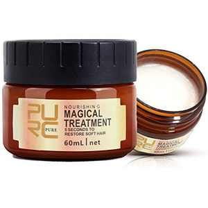 Hair Mask 5 Seconds to Restore Soft Deep Conditioner Magical Hair Treatment Mask for Dry Damaged Curly Hair