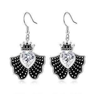 RBG Earrings for Women, S925 Sterling Silver Dissent Earrings Cubic Zirconia Drop Earrings Dangle Earrings RBG Earrings RBG Jewelry Gifts for Women Fans Of Ruth Bader Ginsburg