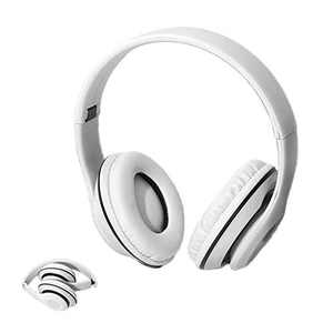XMNYGJ Foldable Portable Over Ear Headphones,Gaming Headset Wired Closed Soundproof and Noise-Reducing Smart Headphones, Suitable for Schools, Homes, Mobile Phones, Computers(White)