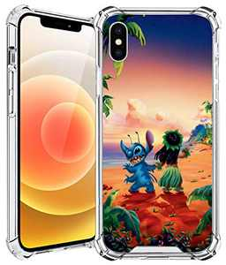 iPhone X/XS Case (5.8Inch) Back Cover,Clear Design,Hard Back with TPU Bumper,Protective,Anti Scratch Resistant,Ultra Slim,and Shock Absorption Frame