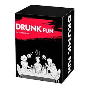 Drunk Fun, Party Card Game, for College, Camping, 21st Birthday, These Cards Will Make You and Your Friends More Happily and Drunk