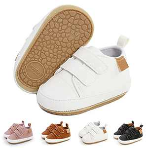 Baby Shoes Boys Girls Infant Sneakers Non-Slip Rubber Sole Toddler Crib First Walker Shoes