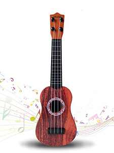 WhiteMyrtle Kids Ukulele Toys 16.5 inch Mini Guitar, Musical Toy Children Musical Instrument Educational Toys for Beginner,for Beginners Toddlers Ages 3+ Boys Girls