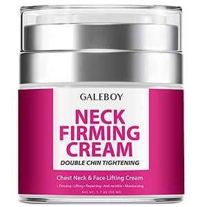 Neck Firming Cream, Anti Aging Moisturizer for Neck & Décolleté, Neck Cream, Double Chin Reducer, Skin Tightening Cream