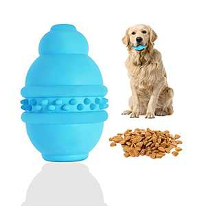 Dog Chew Toy for Aggressive Chewers, Durable Quality Chew Toy, Made with Premium Food Grade Rubber, Teeth Cleaning Toys, Perfect for Medium & Large Dog Breeds, Bite Resistant,FAOHGAED Blue