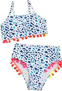Macool Girls Spot Swimsuits Toddler Kids Bikini Beach Swimwear 2 Piece Baby Bathsuits Size 8