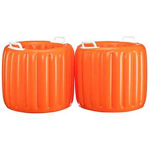 MATICO Inflatable Cooler, Beach Theme Party Decor, Beverage Cooler Beach Leisure Cup Bottle Drink Holder,2 Pack