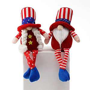 2 Pcs Gnome Gifts Holiday Decoration Kids Birthday Present Handmade Home Ornaments Table Ornament Summer Gnomes Farmhouse Gnomes(Style B)