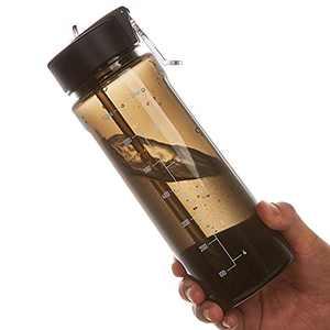 Straw Water Bottle 25oz BPA Free