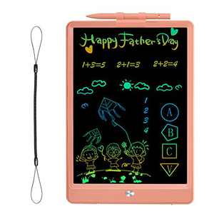 hockvill LCD Writing Tablet, 10 Inch Toddlers Doodle Board Gift, Reusable Electronic Drawing Tablet Drawing Pad for Kids, Educational and Learning Toy for 2 3 4 5 6 Year Old Boys and Girls