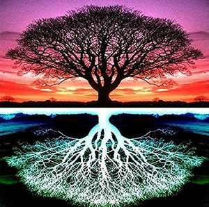 DIY 5D Diamond Painting Kits for Adults,Full Drill Diamond Art,Cross Stitch Embroidery Crystal Rhinestone Arts Dots Craft, Painting for Home Decor Reflection Tree 11.8x11.8inch