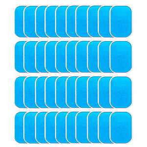 40 PCS Gel Pads Replacement Gel Pad for Buttock Muscle Hip Trainer Replacement Gel Sheet for EMS Trainer