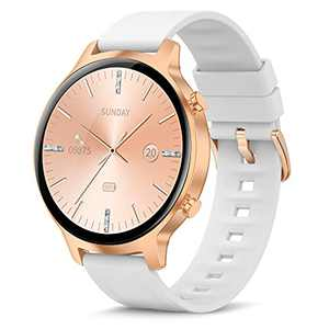 """Smart Watch,1.3"""" Full Touch Fitness Tracker with Heart Rate Monitor, Sleep Monitor,Female Health Tracking Personalized Watch Face,Men Women Smartwatch for iOS Android"""