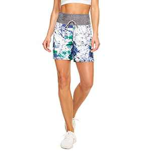 "TNNZEET 5"" Casual Shorts for Women – Workout Yoga Shorts Lounge Summer Sleep Pajama Bottoms Sky Blue"