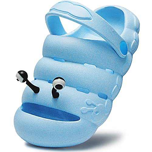 Kids Clogs Toddler Sandals Children's Classic Garden Shoes Slip On Lightweight Non-Slip Shoes for Boys and Girls Beach Pool Shower Slippers,Summer Little Kids, Water Shoes