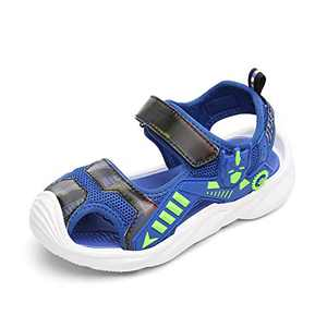 KUBUA Boys Girls Toddler Sandals Close Toe Outdoor Sport Summer Shoes for Kids